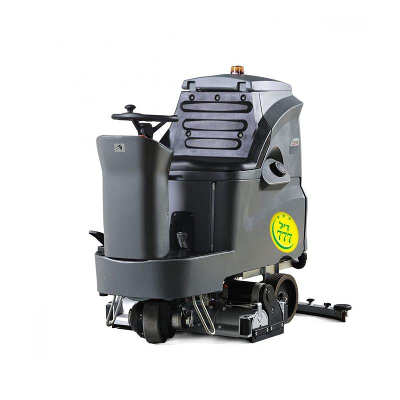 מכונת שטיפה רכובה לשטיפת רצפות