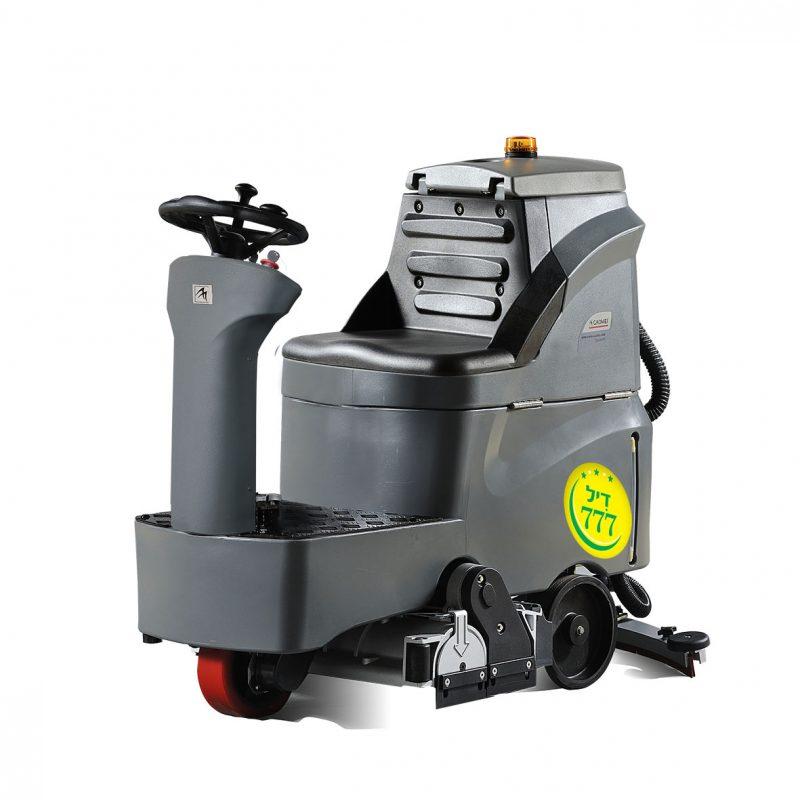 מכונה תעשייתית לניקוי רצפות